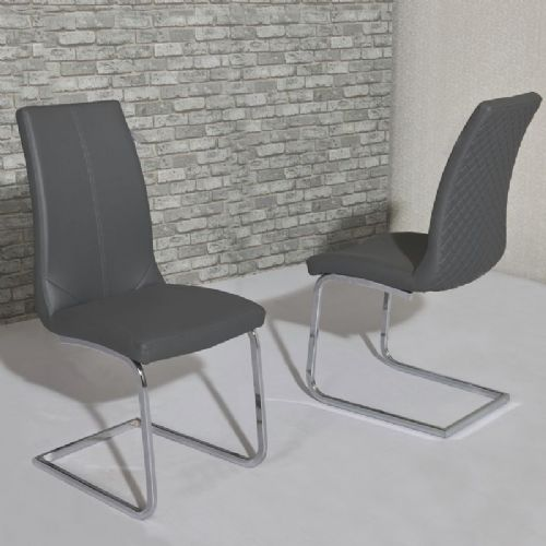 Kelcy Grey Dining Chair